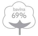 69% bavlna
