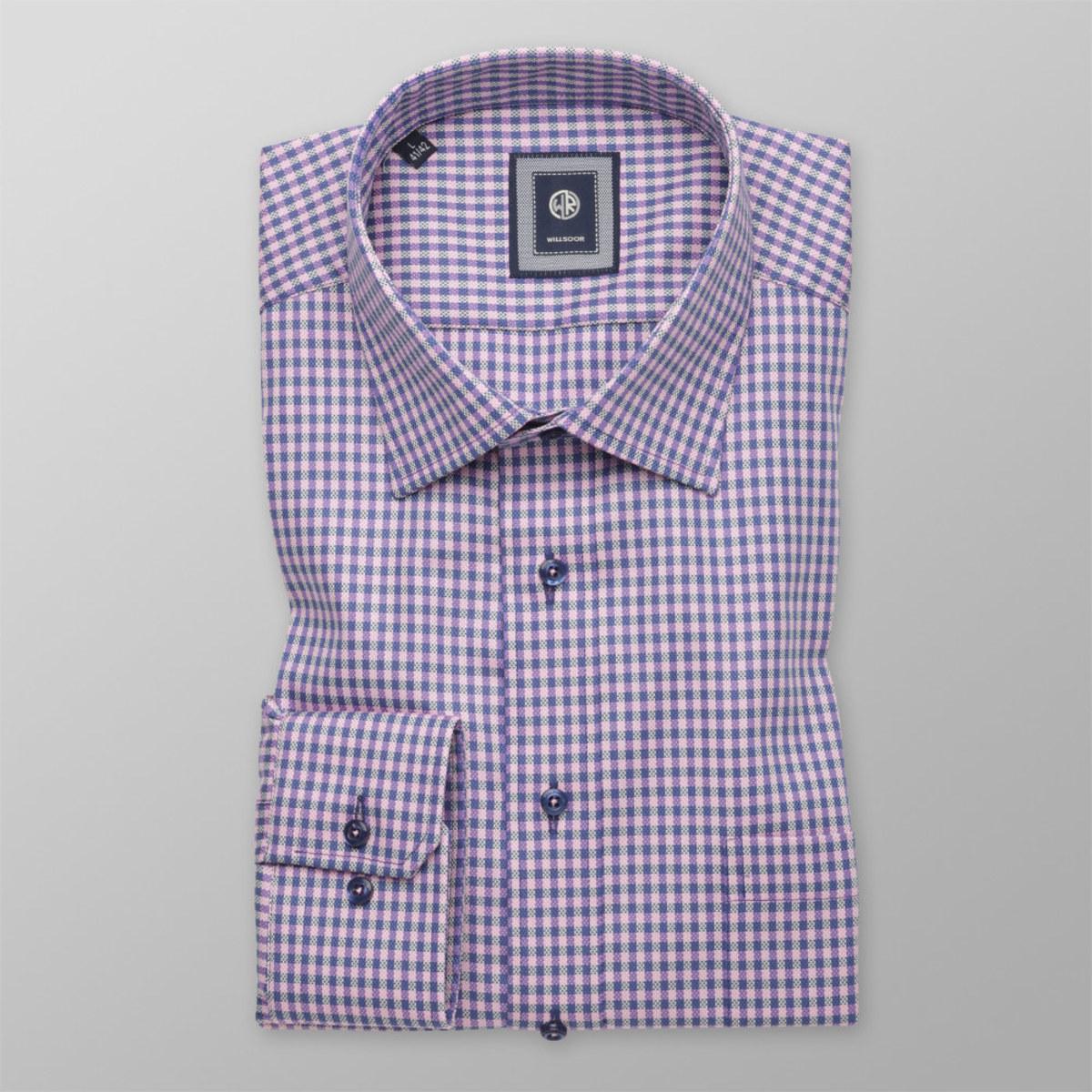Košeľa kockovaná Slim Fit (výška 176 - 182) 10288 176-182 / L (41/42)