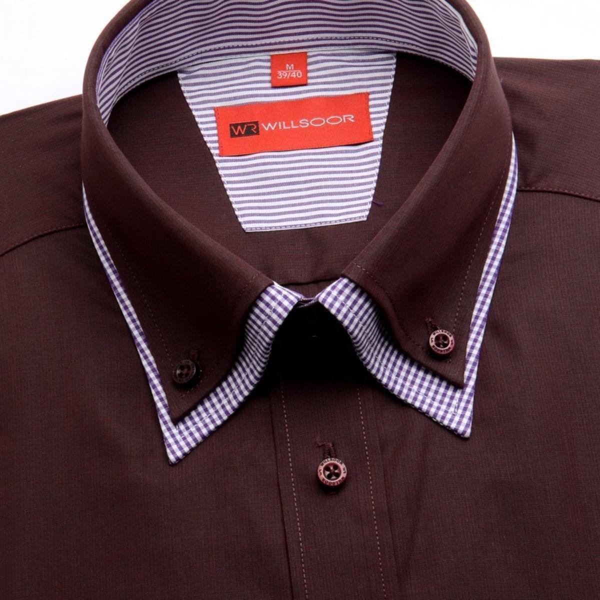Willsoor Pánska košeľa WR Slim Fit (výška 164-170) 1682 164-170 / L (41/42)