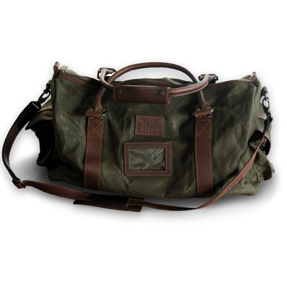 Kožená kabelka na rameno 8213