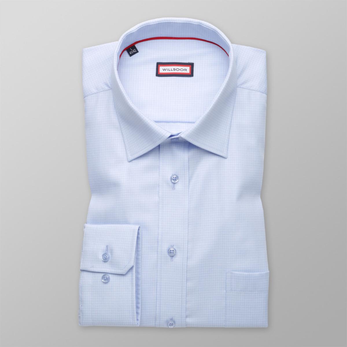 Pánska košeľa klasická (výška 176 - 182) 9604 jemne vzorovaná 176-182 / L (41/42)