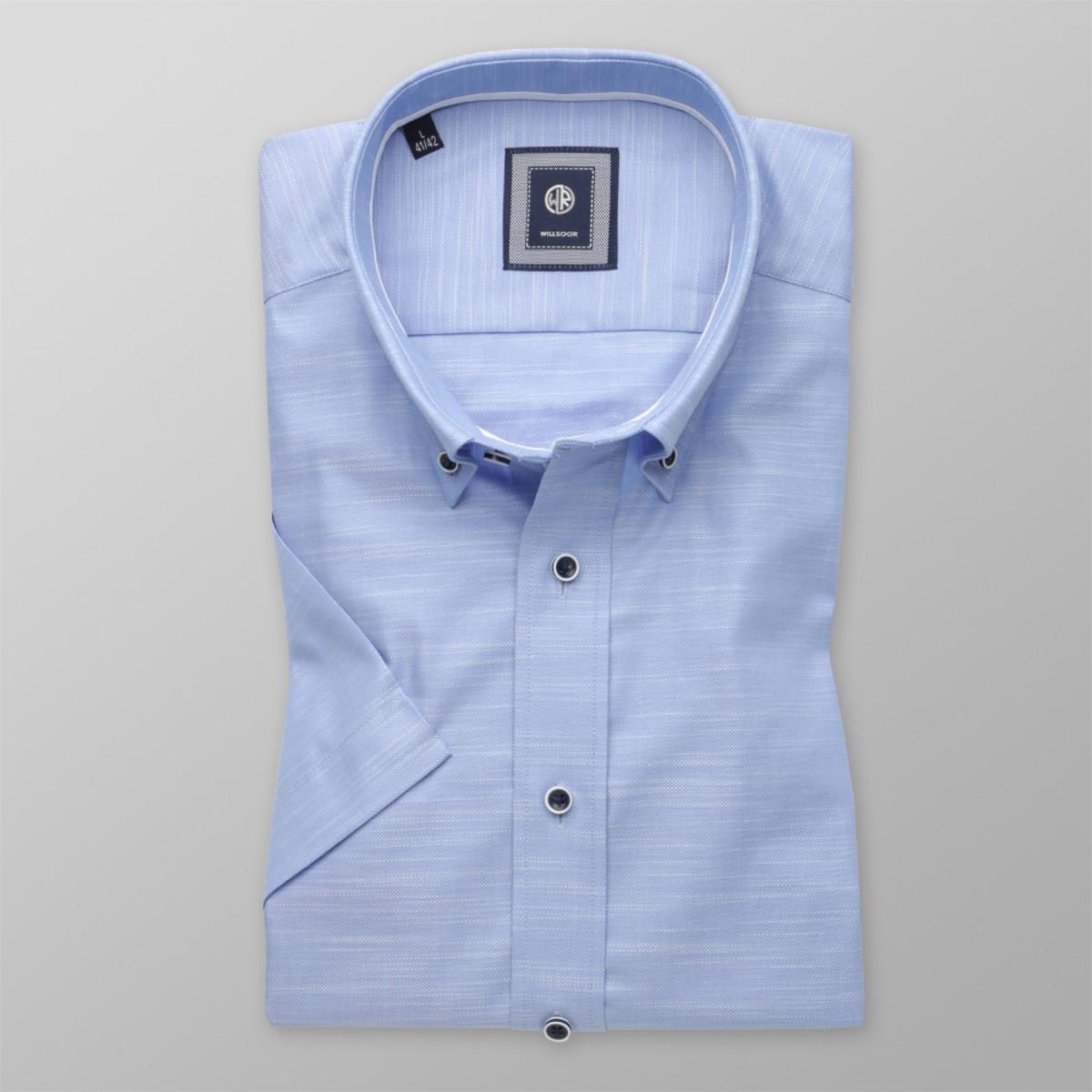 Košeľa Slim Fit bledo modrá (výška 176- 182) 10488 176-182 / L (41/42)