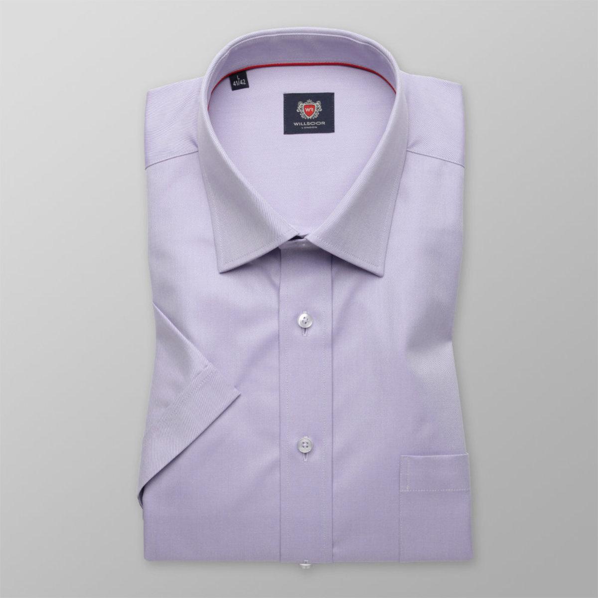 Košeľa London svetlo fialová (výška 176 - 182) 10851 176-182 / XL (43/44)