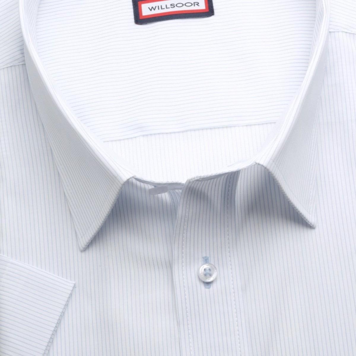 Pánska klasická košeľa (výška 176-182) 6588 s jemným pásikom a formulou Easy Care 176-182 / 49/50
