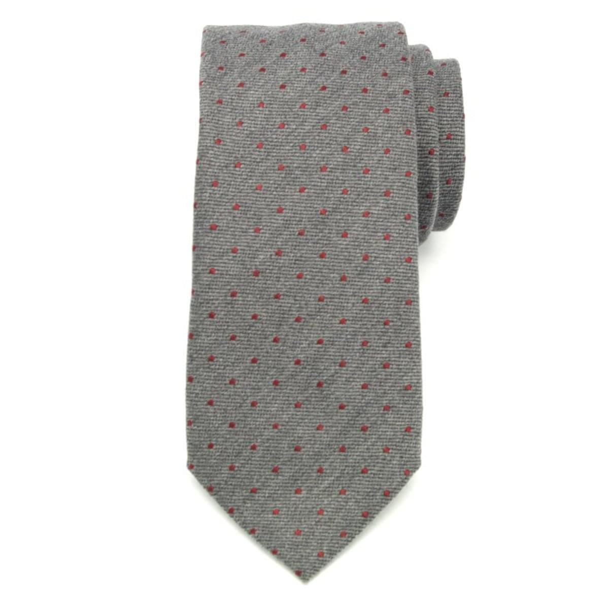 Pánska klasická kravata (vzor 355) 7170 zo zmesi vlny a hodváb
