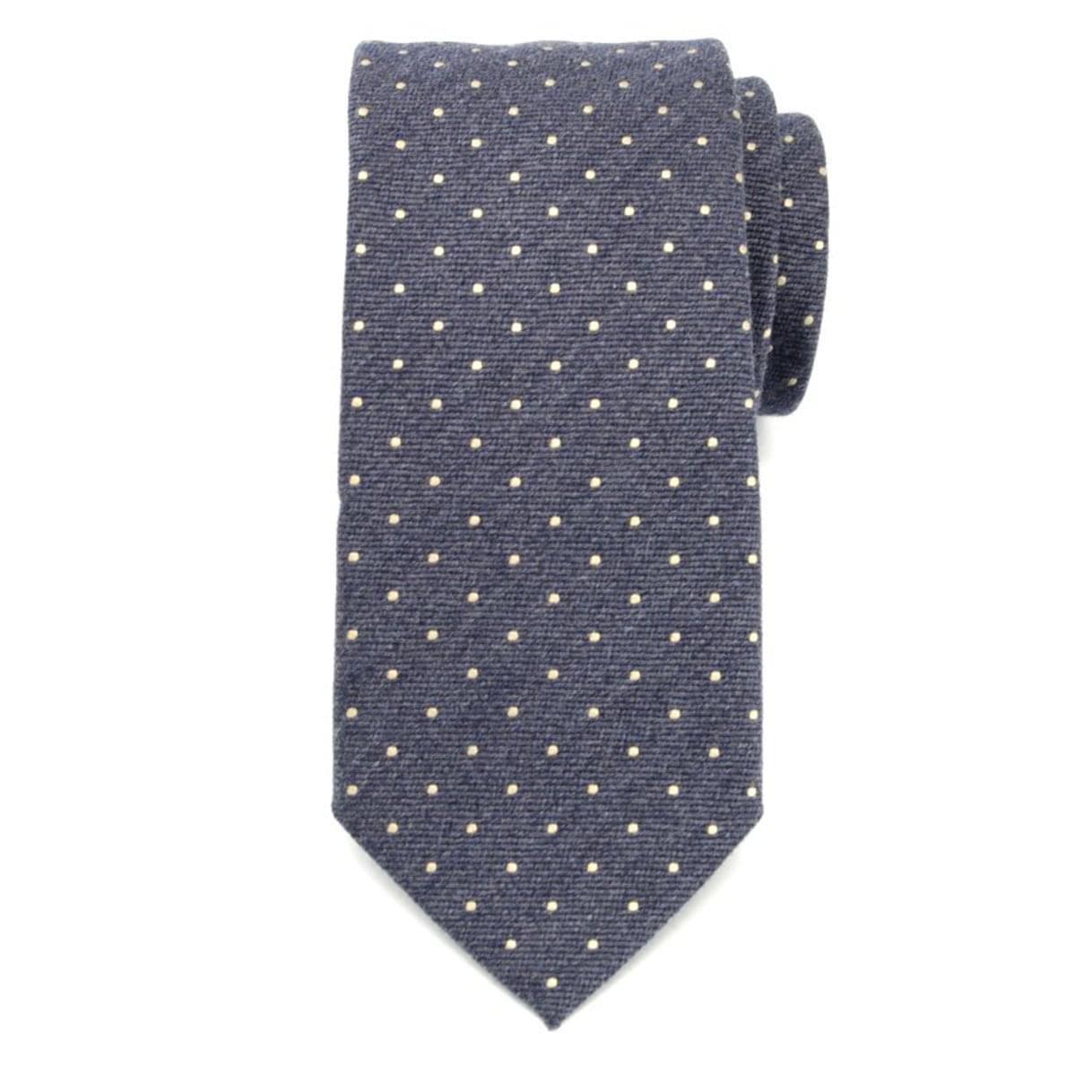Pánska klasická kravata (vzor 356) 7171 zo zmesi vlny a hodváb