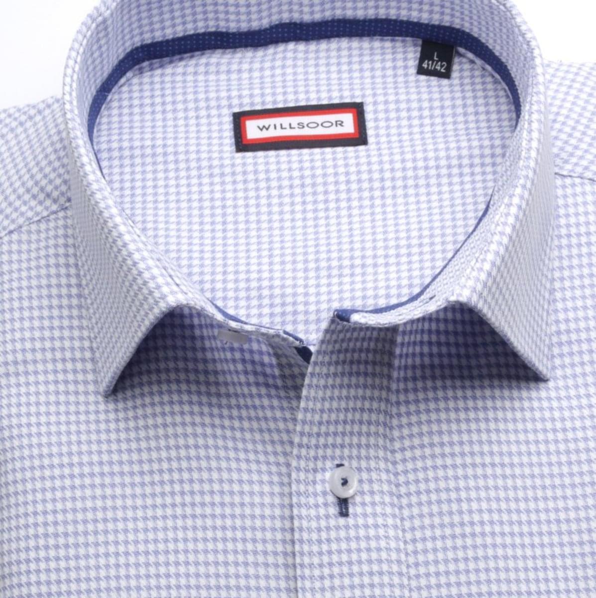 Pánska klasická košeľa (výška 188-194) 7420 vo svetlo modré farbe 188-194 / XL (43/44)