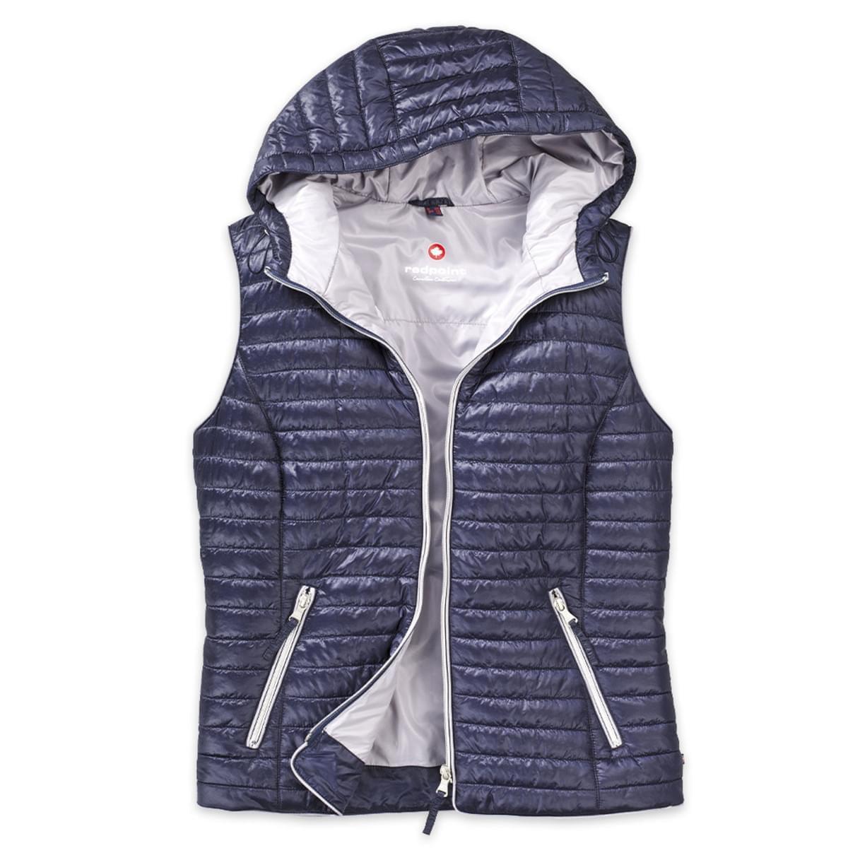 84ec77ed8 Dámska prešívaná vesta zn. Redpoint 8006 vo tmavo modré farbe
