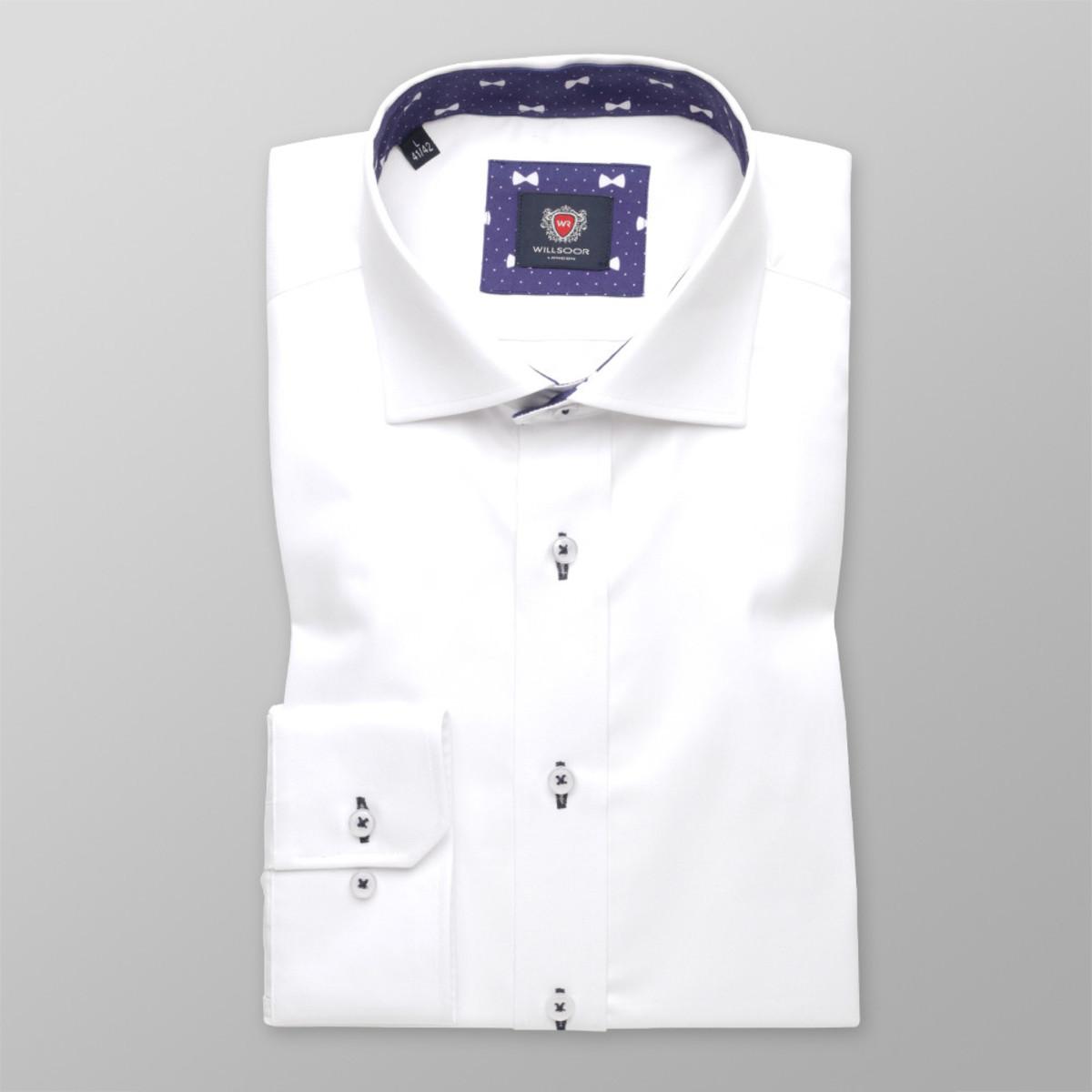Pánska slim fit košeľa London (veľkosti pre všetky výšky) 8847 164-170 / M (39/40)