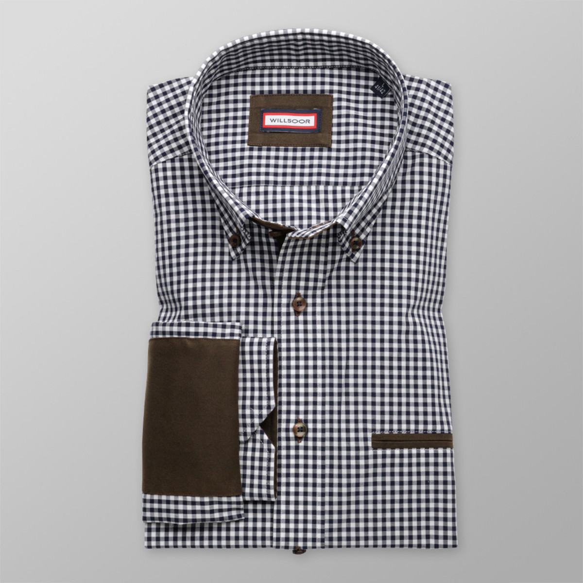 Košeľa Classic (výška 188-194) 9076 188-194 / XL (43/44)