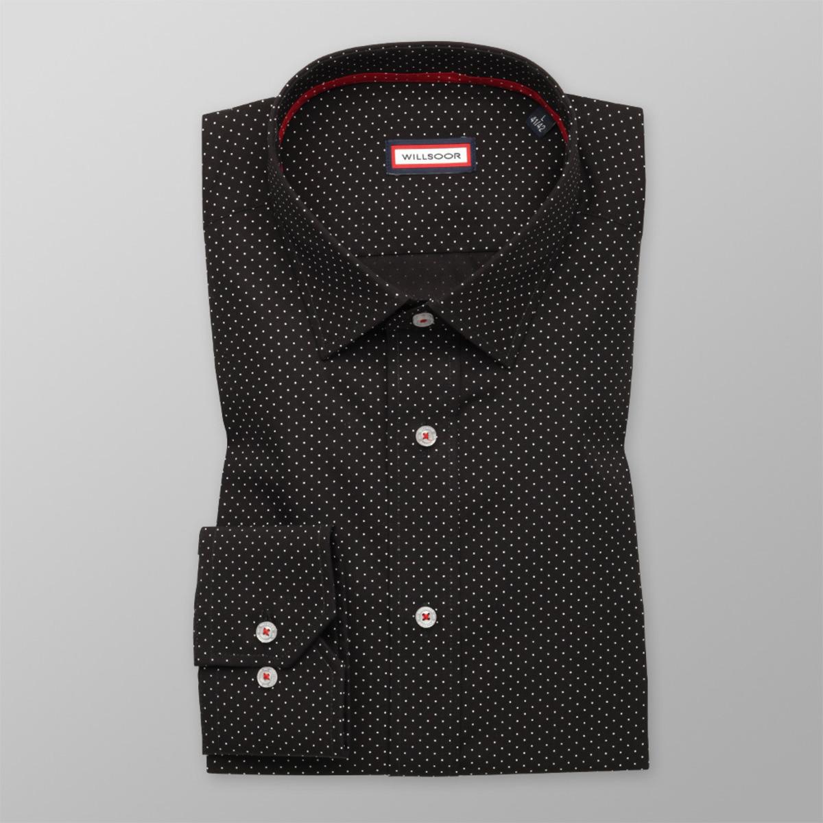 8140bf8aac4d Košeľa Slim Fit čierna (výška 164 - 170) 9708 164-170   L