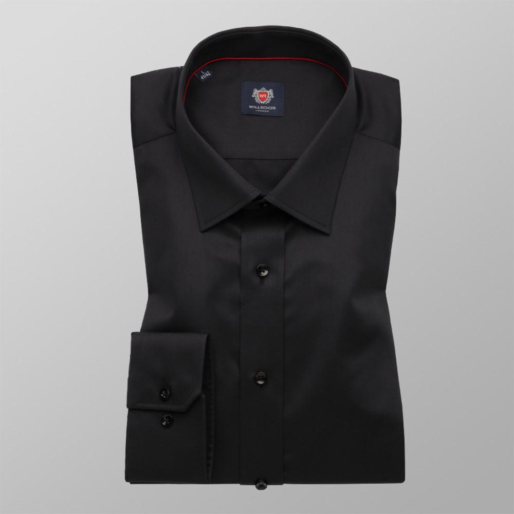 Košeľa London čierna (výška 188 - 194) 10162 188-194 / S (37/38)