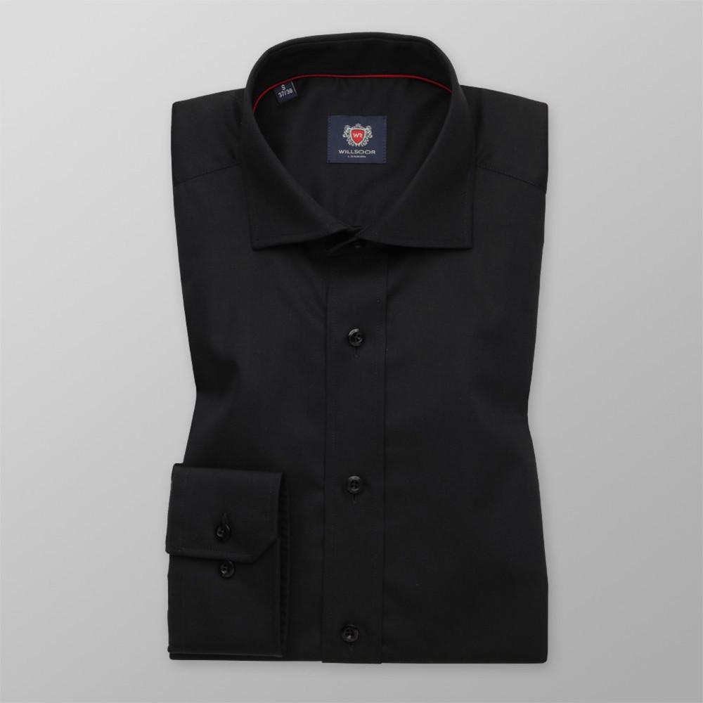 Košeľa London čierna farba (výška 176 - 182) 10191 176-182 / S (37/38)