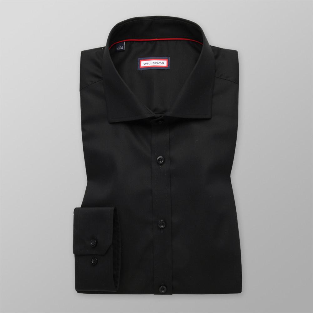 Košeľa Extra Slim Fit čierna (výška 176 - 182) 11065 176-182 / L (41/42)
