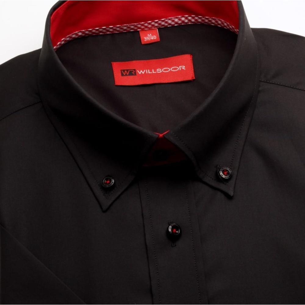 Willsoor Pánska košeľa WR Slim Fit (výška 176-182) 1823 176-182 / M (39/40)