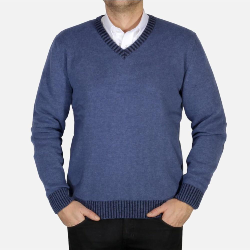 b78a6a017d79 Pánsky sveter Willsoor 4404 - Košele Willsoor