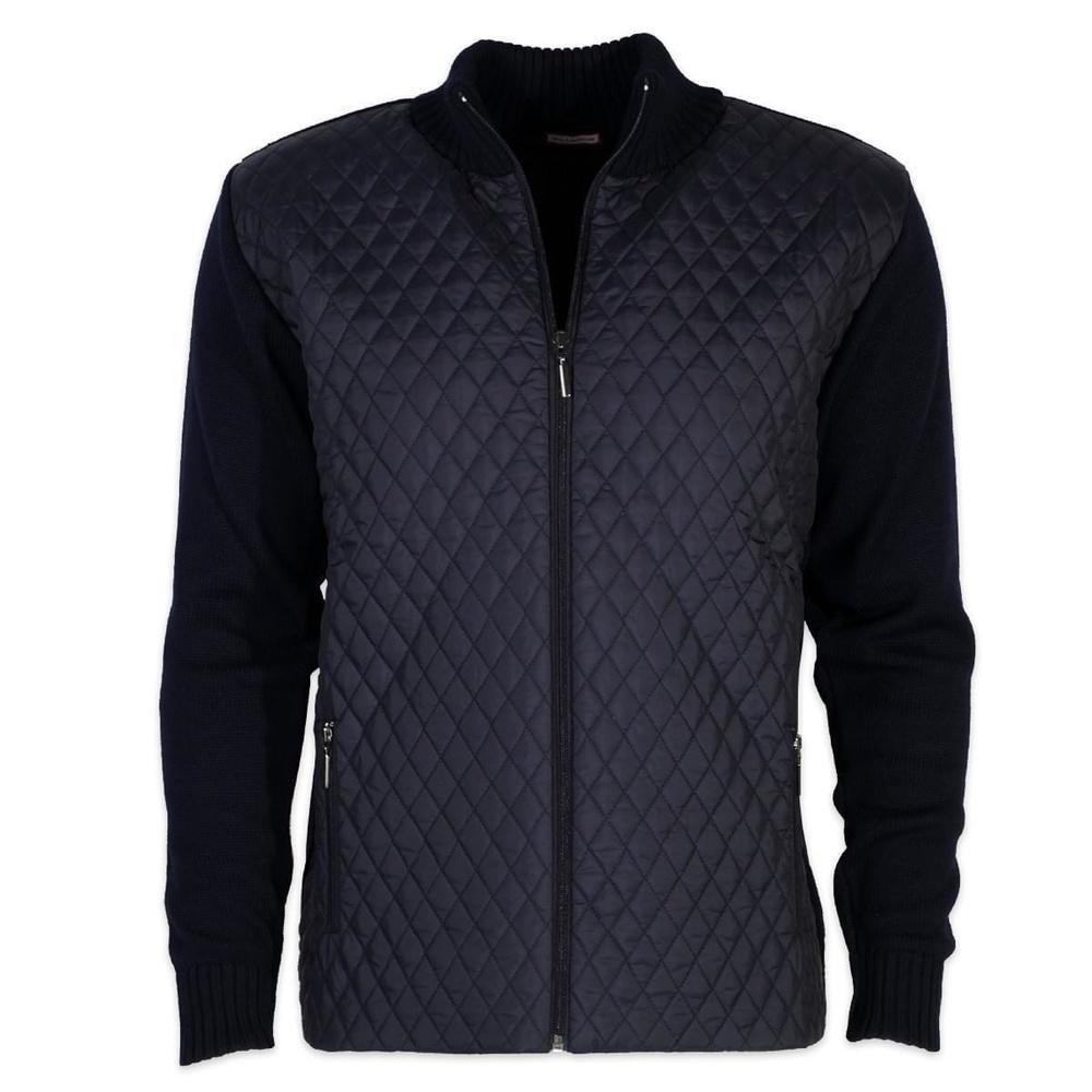 73b1fa87e857 Pánsky sveter Willsoor 5481 vo tmavo modré farbe - Košele Willsoor