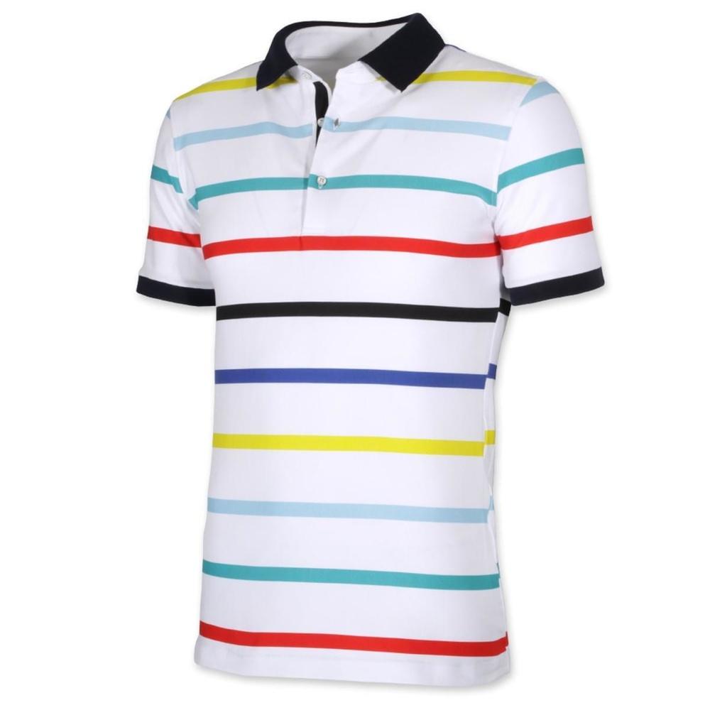 ccb4d43f0742 Pánske klasické polo tričko Willsoor 8100 v biele farbe - Košele ...