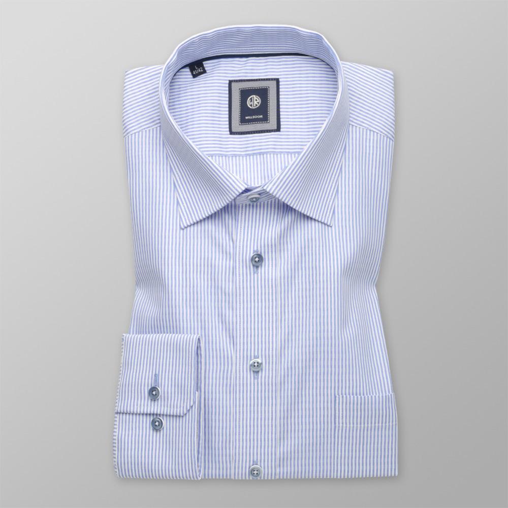 d94078ca8959 Pánska klasická košeľa (výška 176 - 182) 9598 s jemným pásikom ...
