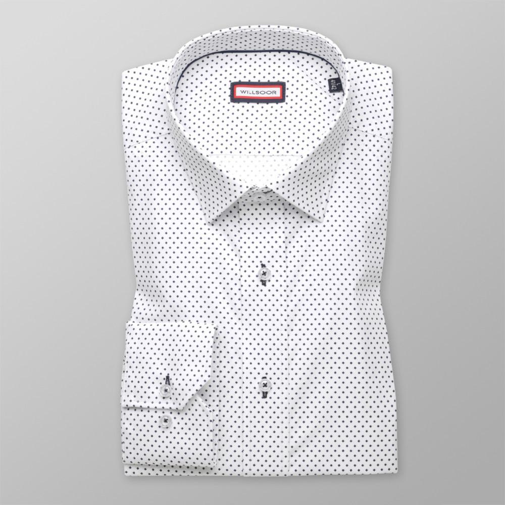 8cd48426e7e2 Pánska košeľa Slim Fit (všetky veľkosti) jemný vzor 9643 - Košele ...