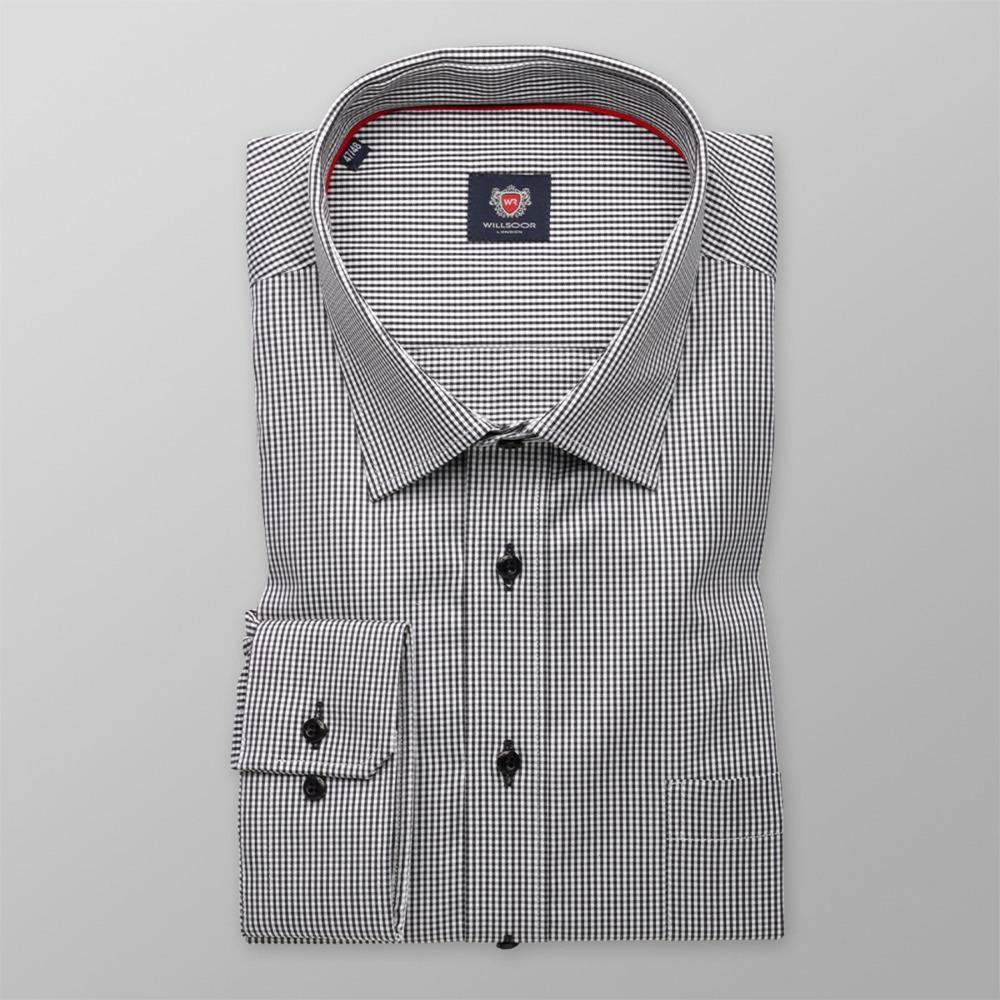 f4ca1d4e435a Pánska košeľa London kockovaná (výška 176 - 182) 9718 - Košele Willsoor