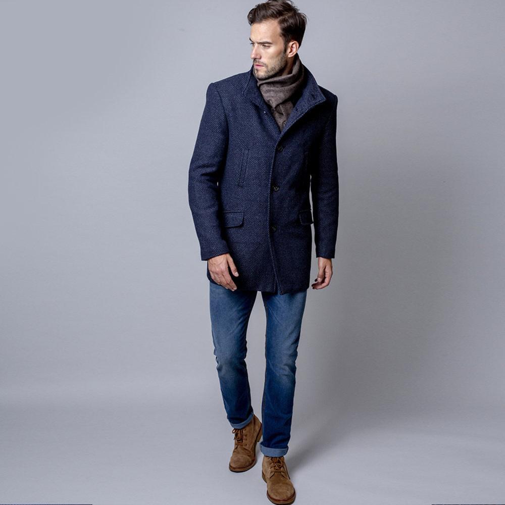 Pánsky kabát (výška 176 - 182) 9901 176 -182 / 56 (XL)