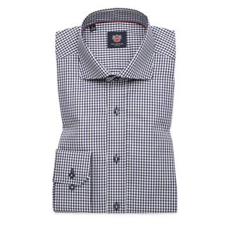 Košeľa London vzor gingham (výška 176 - 182) 10189, Willsoor