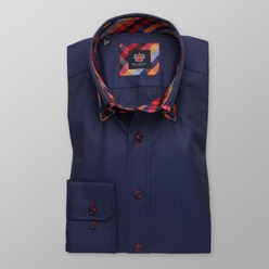 Pánska slim fit košeľa London (výška 176-182) 8849, Willsoor