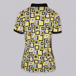 d4b27f0aff68 Dámske Polo tričko 9462 sa vzorom štvorcov - Košele Willsoor