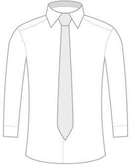 Klasická kravata z mikrovlákna